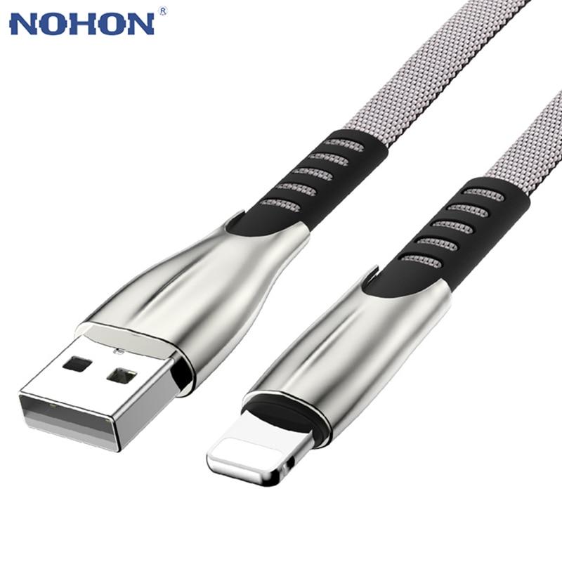 1 м 2 м 3 м быстрое зарядное устройство USB кабель для iPhone 7 8 6 6s 5 5S X XR XS MAX IPad шнур питания Аксессуары для мобильных телефонов