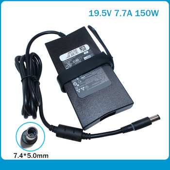new Very large Ac Adapter 19.5V 7.7A 150W laptop charger for Dell Alienware 15 R1 M15x Inspiron M170 M1710 M2010 9100 9200 DA150 new genuine 330w 19 5v 16 9a da330pm111 notebook power adapter for dell alienware m18x r1 r2 m11x m17 m18 m17x xm3c3 ac charger