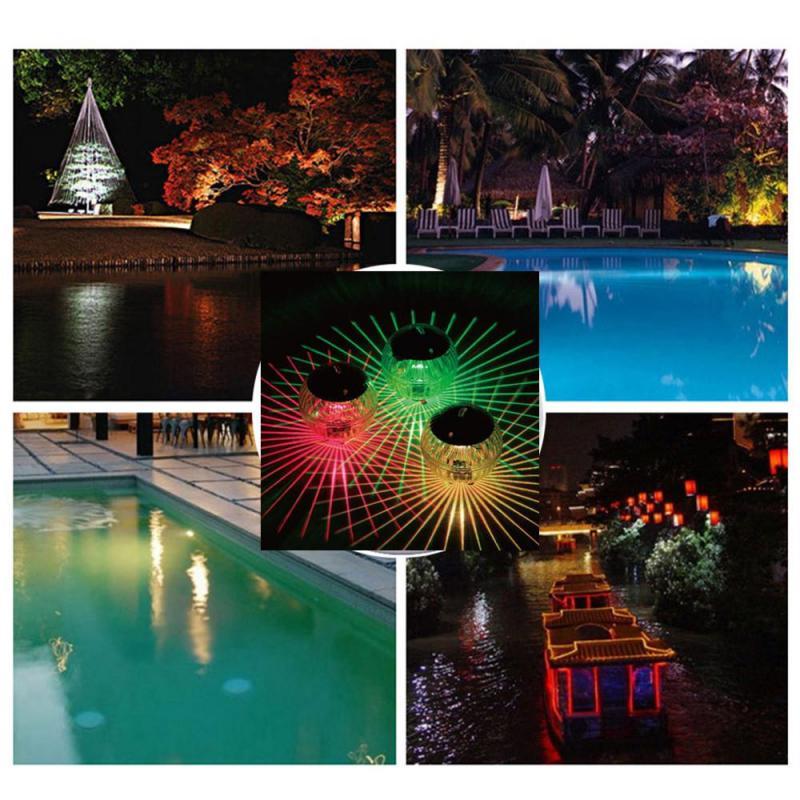 Lâmpada de flutuação piscina led luz impermeável