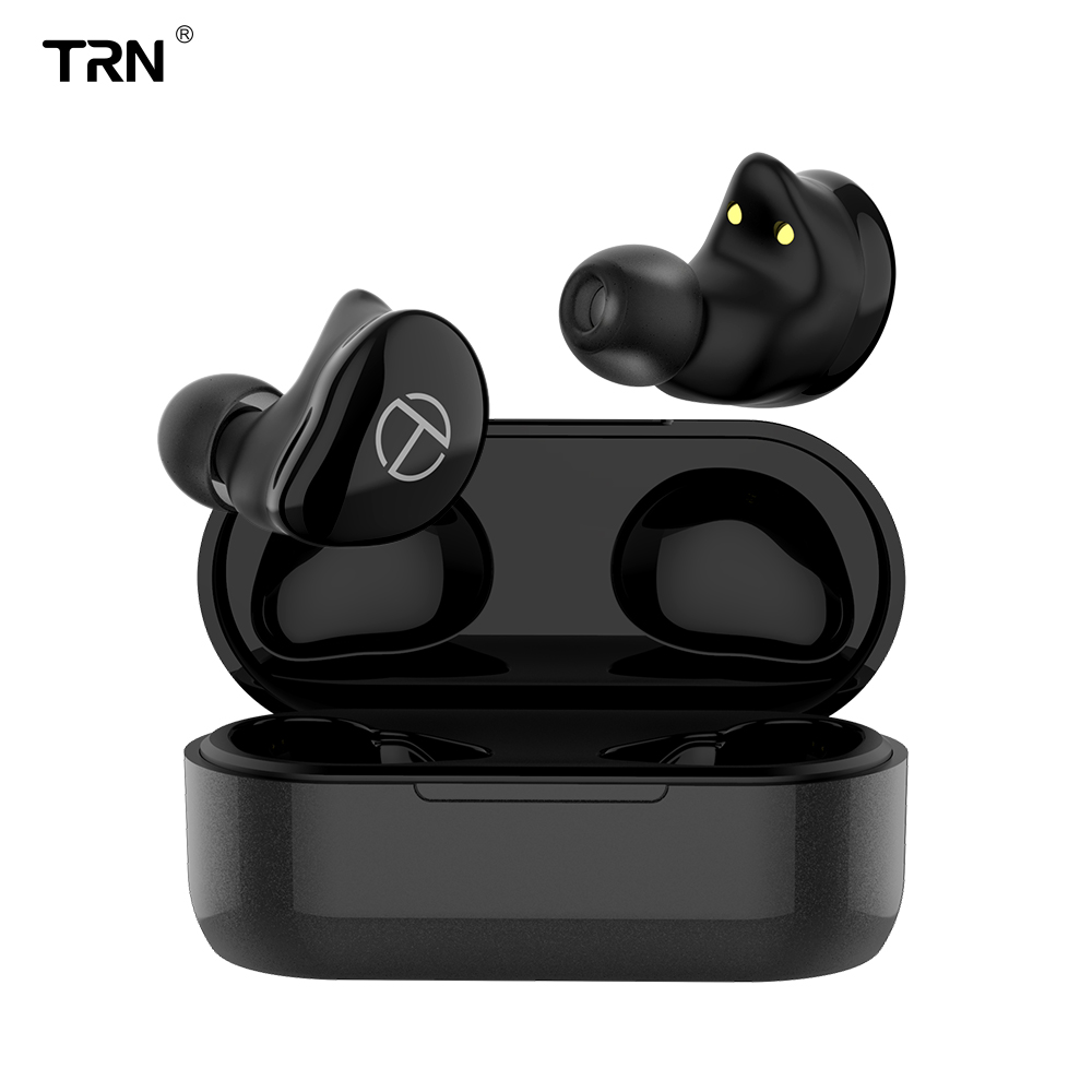 <font><b>TRN</b></font> <font><b>T200</b></font> <font><b>TWS</b></font> 1BA+1DD Hybrid Drivers V5.0 Bluetooth Headset Portable Sport Earphone Earbuds With QCC 3020 Chip Aptx/AAC/SBC IPX5 image