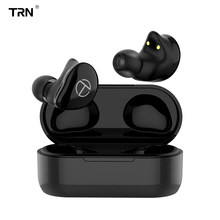 TRN T200 TWS 1BA+1DD Hybrid Drivers V5.0 Bluetooth Headset Portable Sport Earphone Earbuds With QCC 3020 Chip Aptx/AAC/SBC IPX5(China)