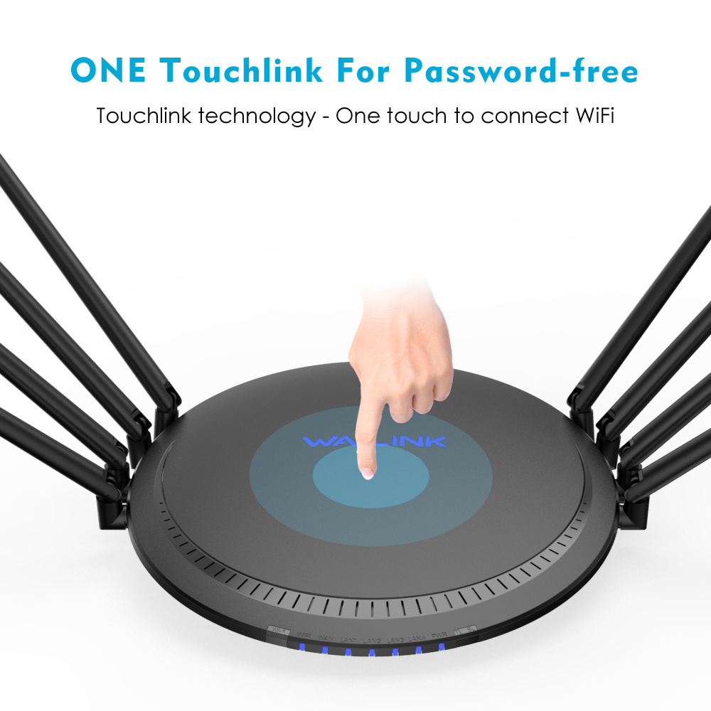 Image 5 - AC3000 MU MIMO Tri band Wireless WiFi Router 2.4G+5Ghz with Touchlink Gigabit Wan/Lan Smart Wi Fi Repeater/Access Point USB 3.0-in Wireless Routers from Computer & Office