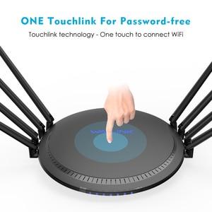 Image 5 - AC3000 MU MIMO trójpasmowy bezprzewodowy Router Wi Fi 2.4G + 5Ghz z Touchlink Gigabit Wan/Lan Smart Wi Fi Repeater/punkt dostępu USB 3.0