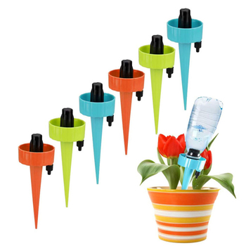 12Pcs Practical Horticultural Automatic Watering Device Lazy Irrigation Watering Device Gardening Plant Drip 4pcs set plastic automatic watering device plant watering irrigation spray bottle 4pcs agricultural watering can