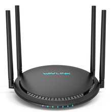цена на Wavlink Dual Band 5Ghz Wireless WIFI Router 1200Mbps Wifi Repeater with Touchlink easy setup 4x5dbi Smart wi-fi router/extender