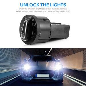 Image 2 - 1 piece New AUTO Headlight Head Lamp Switch Light Sensor Module Upgrade For VW Golf Jetta MK5 6 Tiguan Touran Passat Polo Bora
