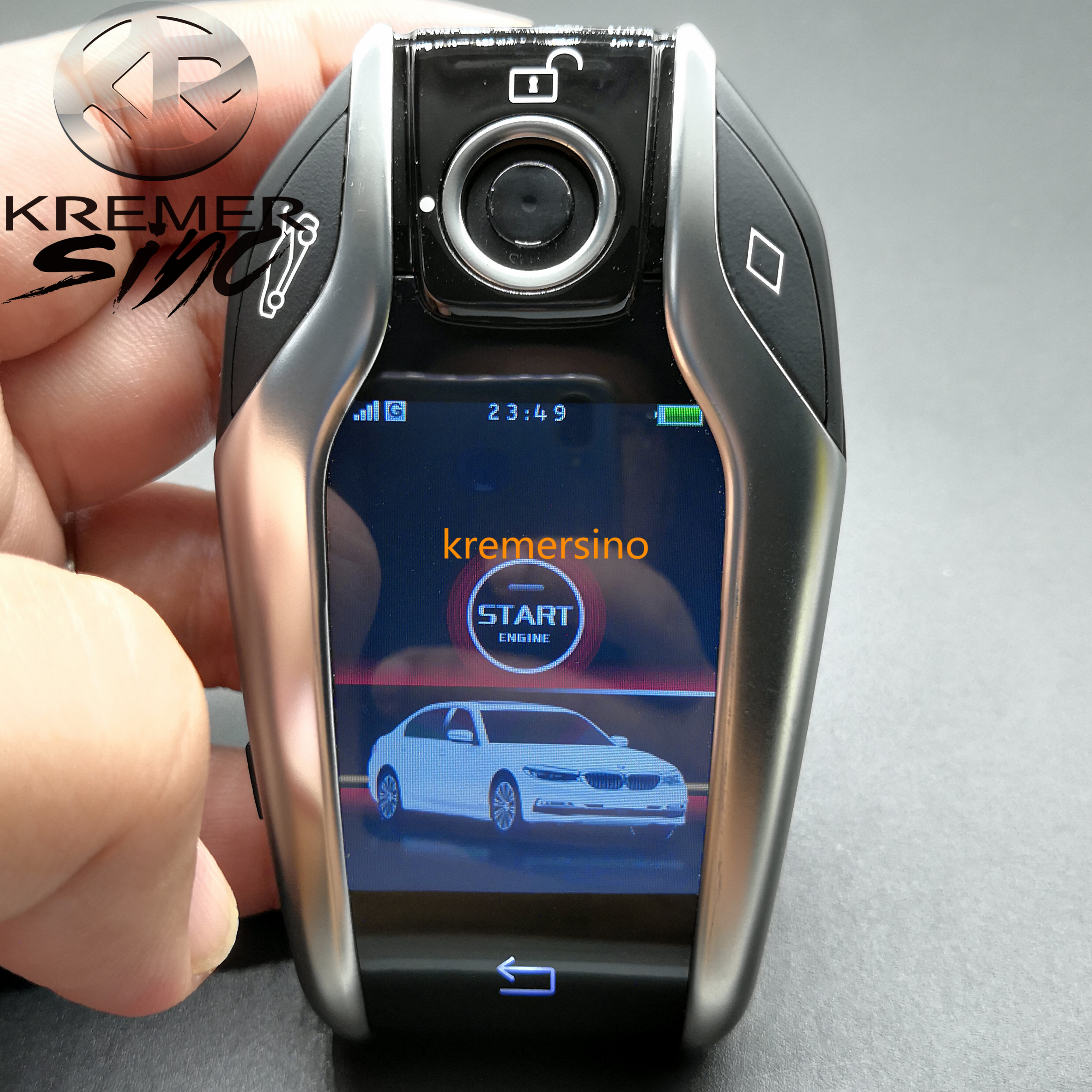Free Shipping Aftermarket Display Key For BMW G Model F Model  BMW Keyfob With Display Key Fob With Touch Screen