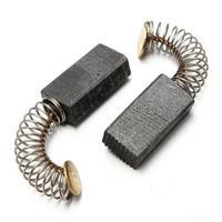1 para 5x8x1 6mm węgiel silnikowy szczotki do wiertarki śrubokręt strugarka szlifierka piła elektronarzędzia komponenty