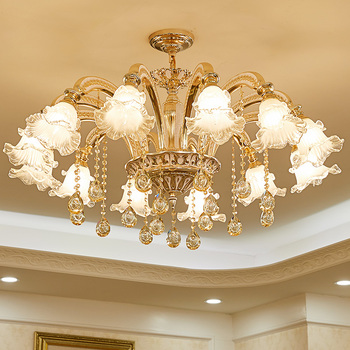 Gold crystal chandelier modern lighting for living room dinning room Chandelier lights Crystal k9 chandeliers Crystal Lights chandelier lighting modern crystal lights export k9 crystal chandelier candle chandeliers crystal villa living room chandelier