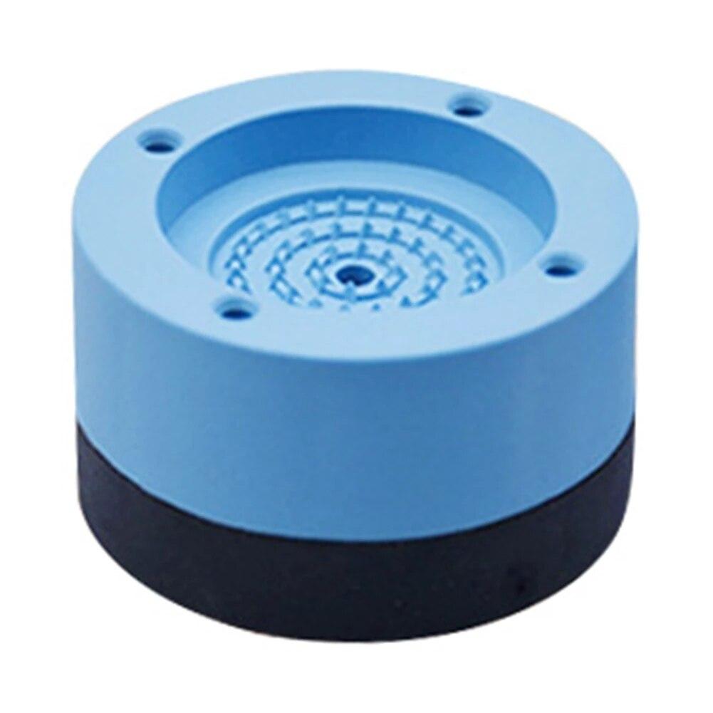Anti Vibration Washer Feet Pad Universal Washing Machine Anti-Skid Roller Kit Furniture Lifting Foot Base-2