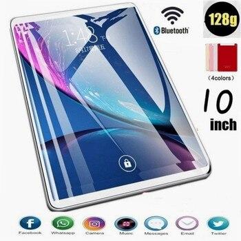 2020 nueva tableta de 10 pulgadas tableta del teléfono de PC HD pantalla inalámbrica Bluetooth máquina de aprendizaje inteligente Android Sistema de pantalla táctil 6G + 128GB