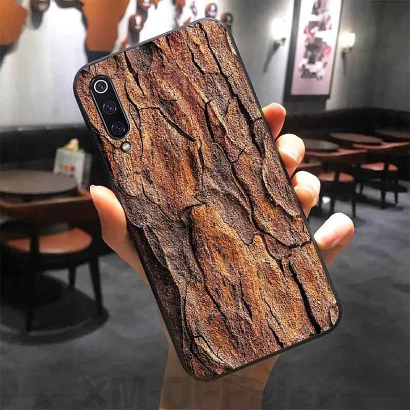 ByLoving texturas de madera DIY pintado Bling funda de teléfono para xiaomi mi 8 9 8SE 9SE 8Lite mi x2 2S max2 3 teléfono móvil F1