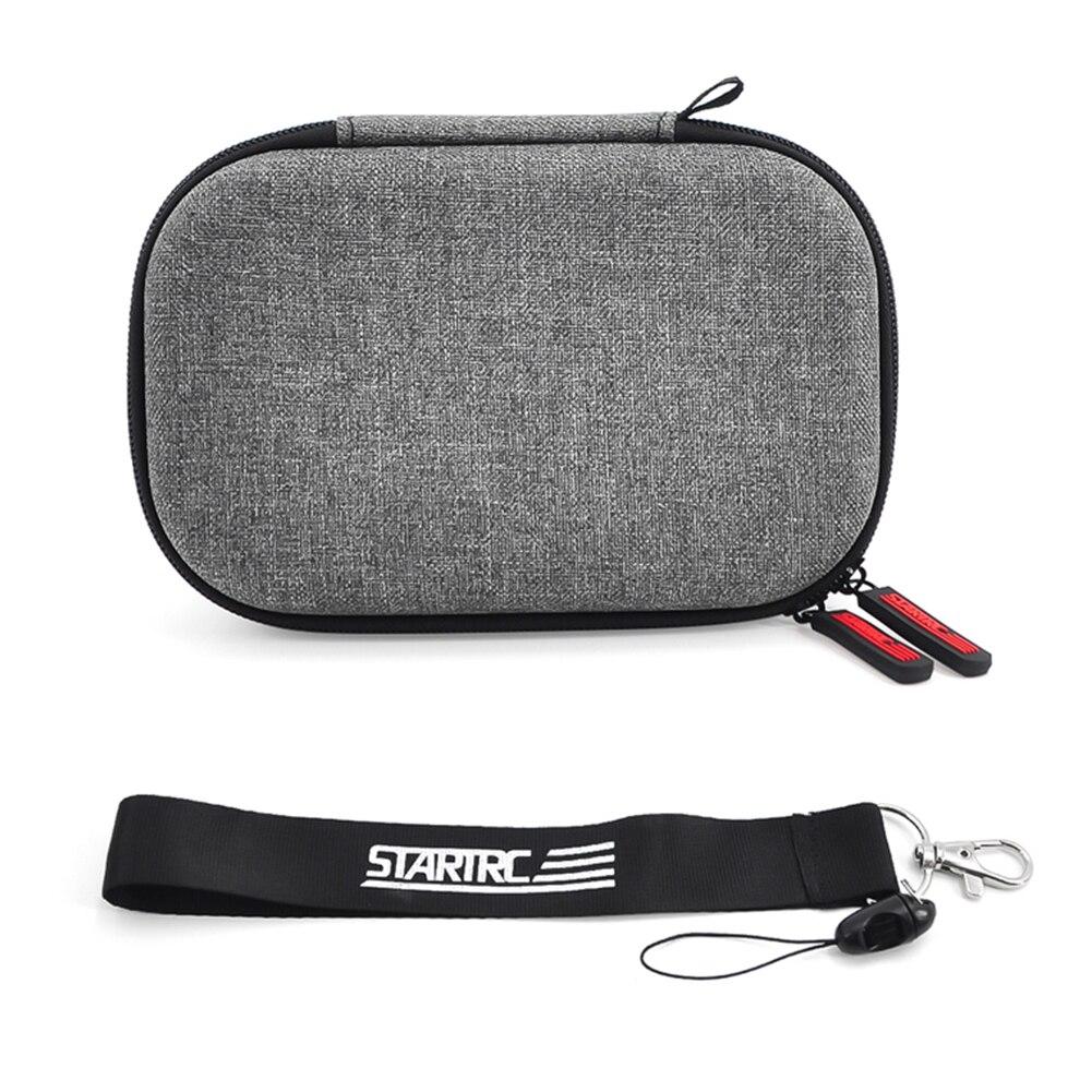 Двойная молния противоударный чехол для переноски сумка для дрона Ткань Оксфорд жесткий с ремешком для хранения износостойкий для DJI Mavic Mini
