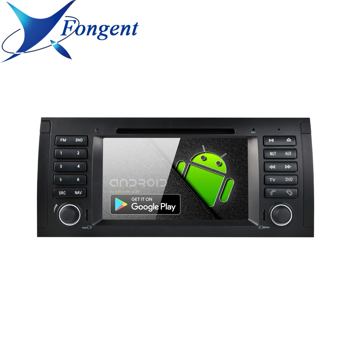 Android 9.0 Eight Octa RK339 PX6 Car 1din DVD Player For BMW X5 E53 E39 E38 M5 5 7 Series Multimedia Radio GPS Navigator Stereo image