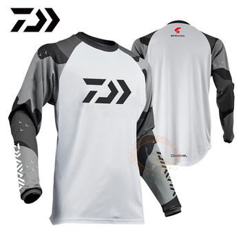 2019 kurtka do wędkowania koszula jazda na rowerze odzież wędkarska oddychająca koszula ochrony przeciwsłonecznej szybkie suszenie UPF 50 + z długim rękawem koszulki wędkarskie tanie i dobre opinie