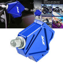 Алюминиевый Рычаг сцепления для мотоцикла с ЧПУ для Yamaha YZ426F/450F YZ125X YZ250X YZ250FX
