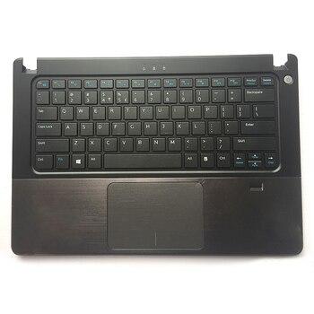 Reposamanos con panel táctil para portátil, Original, para Dell Vostro V5460 5460...