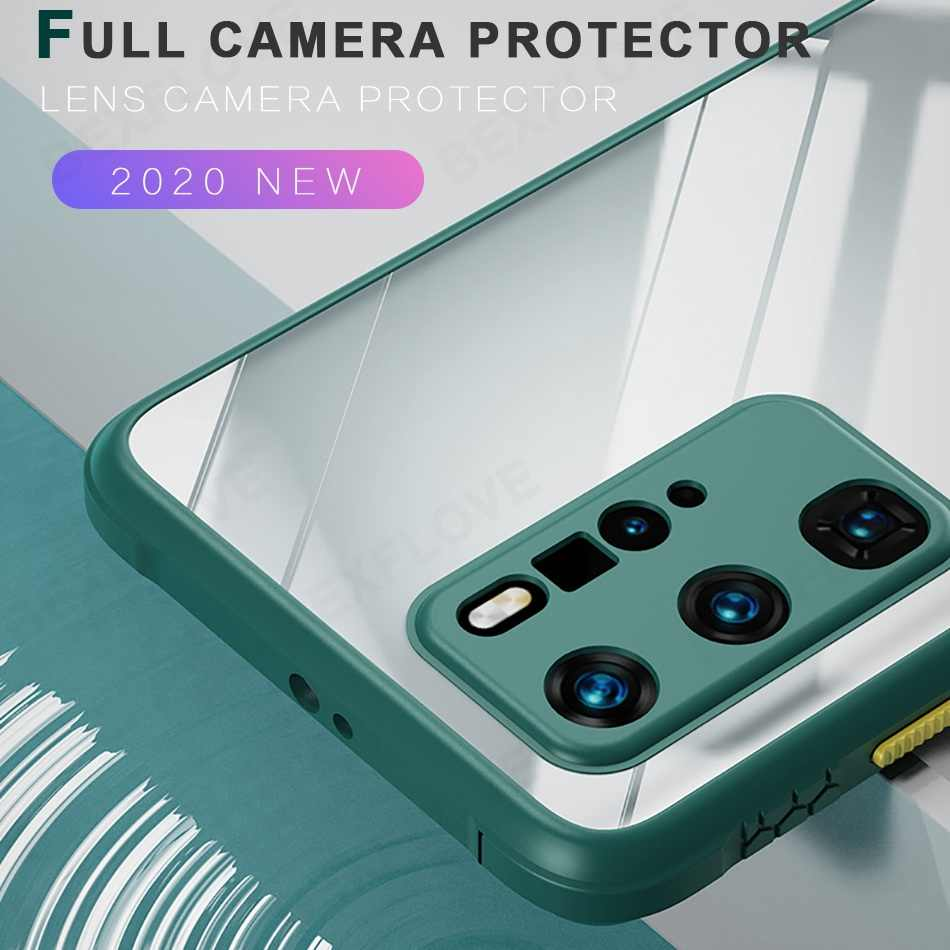 Telepon Kasus untuk Samsung Galaxy Note 20 10 Ultra S10 S20 Plus Pro A51 A71 A50 A70 A21S Silikon Case shockproof Cair Soft Cover