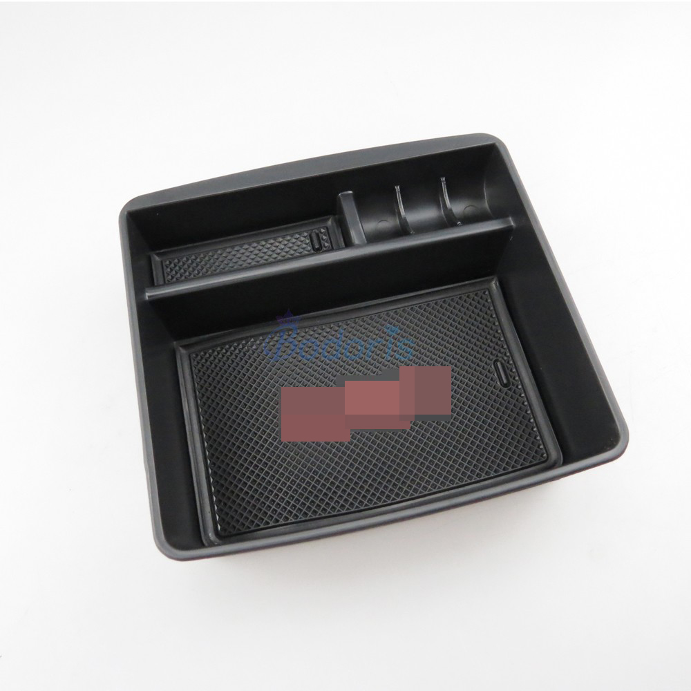 For Toyota Land Cruiser Prado FJ 150 120 Lexus <font><b>GX400</b></font> GX460 Armrest Glove Storage Box Organizer Tray Car Styling Accessories image