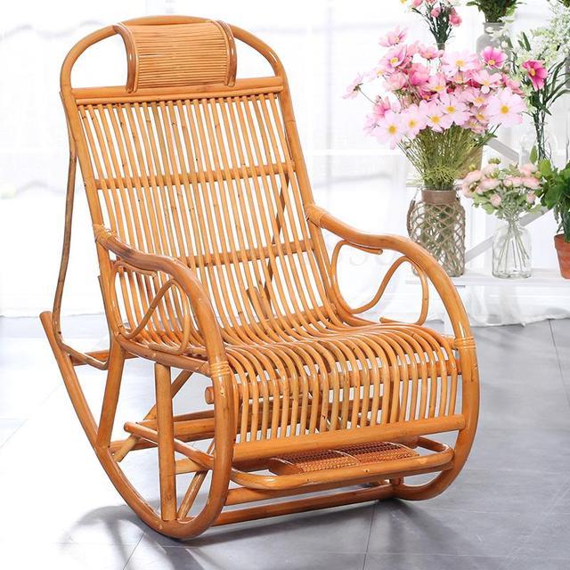 Rattan Rocking Chair  1