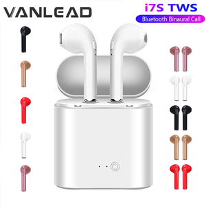 Hot Sale I7s TWS Bluetooth Earphone Stereo Earbud Wireless Bluetooth Earphones In-ear Headsets For All Smart Phone(China)