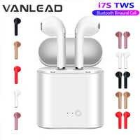 Venta caliente I7s TWS auriculares Bluetooth estéreo auriculares inalámbricos Bluetooth en la oreja auriculares para todos los teléfonos inteligentes