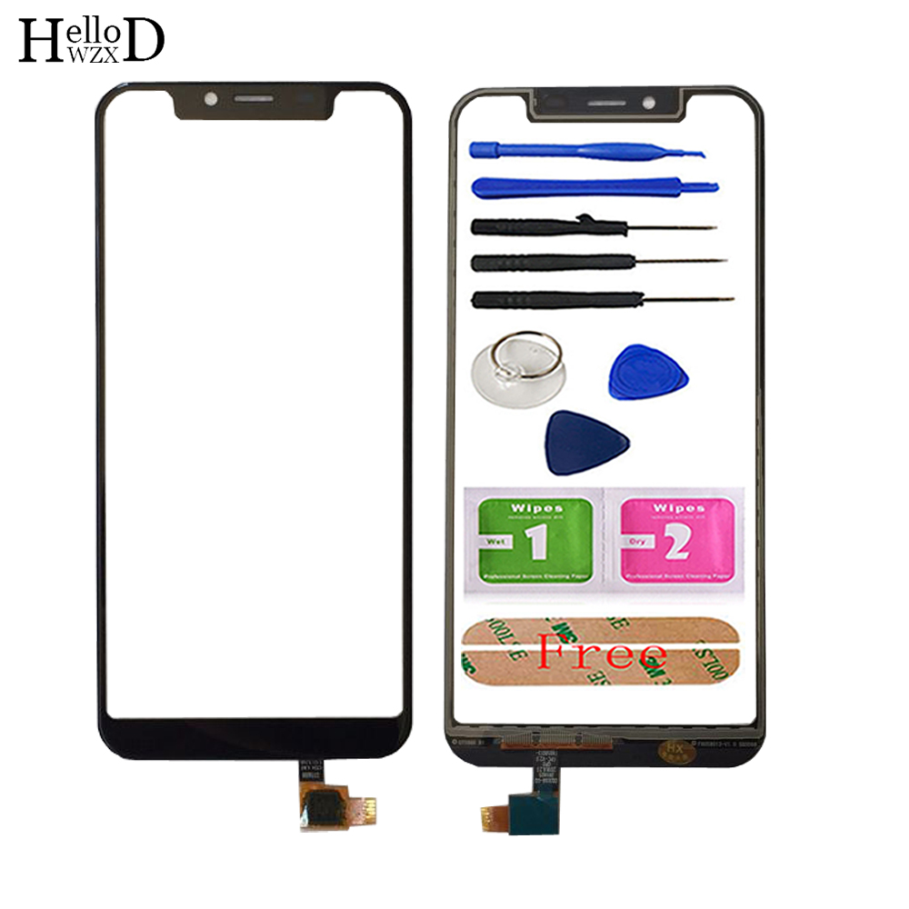 5.8'' Mobile Touch Screen Front Glass For Ulefone X Touch Screen TouchScreen Digitizer Panel Lens Sensor Phone Tools Adhesive