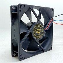 Ventilador de enfriamiento de ordenador D90SH-12, 92mm, 9025, 9225, 12V, d90sh-12, chasis de la CPU, refrigeración, 9cm, súper silencioso