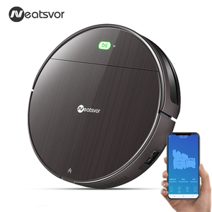 Image 2 - NEATSVOR V392 Robot Vacuum Cleaner,Map navigation,1800Pa Suction,Auto Charge, Map Display, Wifi APP Connect, Electric Water tank