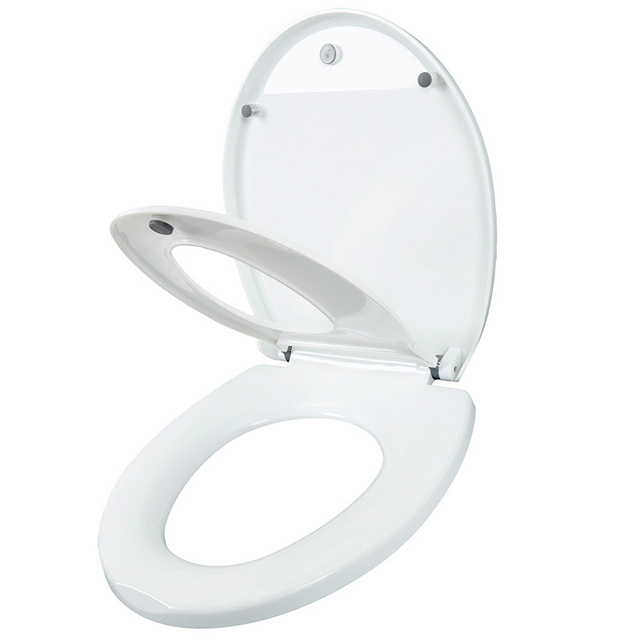 Double Layer Adult Toilet Seat Child Potty Training Cover Prevent Falling Toilet Lid For Kids PP Material Slow-Close Travel Pot 1
