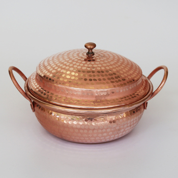 Pure copper handmade thickened Yunnan small soup noodle pot rice flour stewpot mini stew pan gas cooker