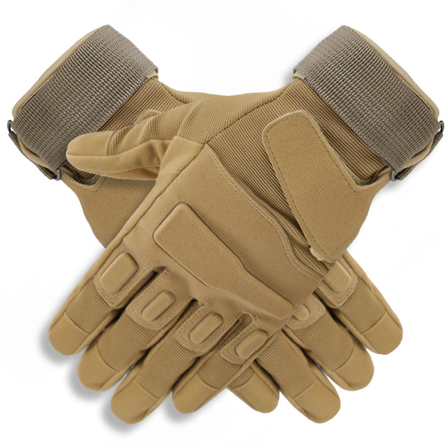 Military Outdoor Adventure Mountaineering Anti-Slip Sun Protection All-Finger Sports Riding Tactical Gloves 1