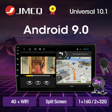цена на JMCQ Android 9.0 2G+32G Car Radio Multimedia Video Player Navigation GPS For Universal VW Skoda Toyota Nissan Honda Hyundai Kia