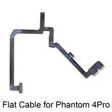 Cabo de fita Plana Flexível Para DJI Fantasma 4 Pro Gimbal Camera Flex Cable Reparação Parte para P4P Zangão Kits de Substituição