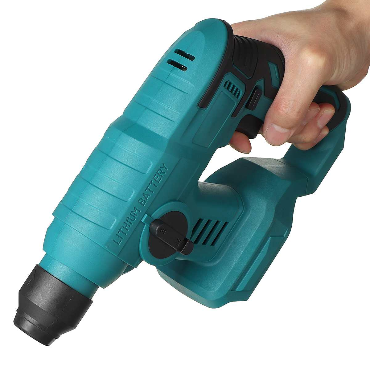 Tools : Rechargeable Brushless Cordless Electric Rotary Hammer Drill Multifunction Heavy Duty Impact Hammer Drill For 18V Makita Battery
