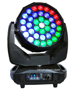 Image 5 - TIPTOP Stage Light 37x15W RGBW 4in1 K20 Big Bee Eye LED Moving Head Beam Wash 2IN1 Light B Eyes Spot Light Pixel Color Change