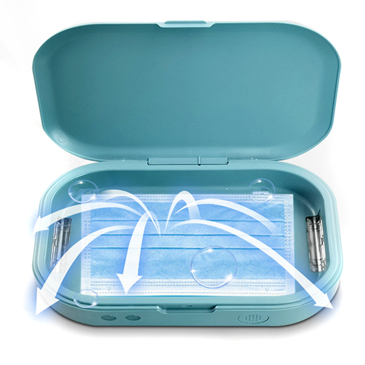 UV Sanitizer Portable Ultraviolet Light Toothbrush Mobile Phone Sterilizer Box With Aromatherapy Function For Travel Home