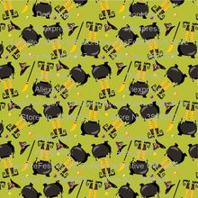 witch let smelter Halloween Knit knitted fabric Jack Skull polyster Jersey Fabric Knitting Patchwork DIY baby clothing Sewing(China)