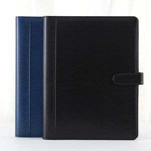 Image 5 - A4 File Folder Conference Multifunction Pouch Cover Office Business Management Clip Binder Calculator Card Holder Manager Clip