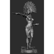 Фигурка модели из смолы 75 мм GK, женская роль, несобранный и Неокрашенный комплект