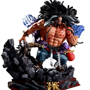 One Piece GK Action Figure Beastmaster Kaido Luffy Zoro Pvc Battle Ver Model Collection Anime Toy Exquisite Desktop Decoration(China)