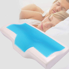 Memory Foam Pillow Deep-Sleep Anti-Snore Neck Sleep Pillow Cushion Pillow Cover Home Beddings Couple Health Care Memory Pillow