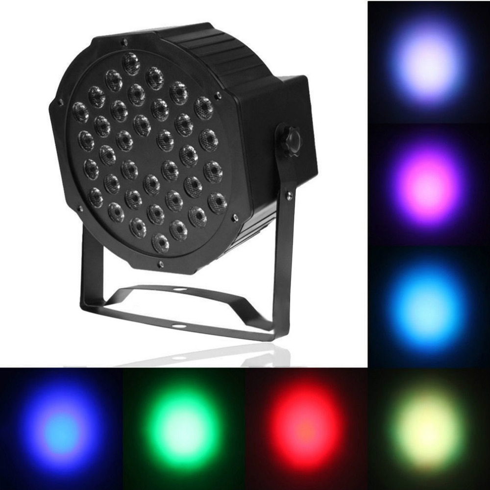 Laser Stage Light 36 LEDs Light Beads For Stage Club Pub Ballroom Large Scale Concert EU Plug/US Plug PAR Light