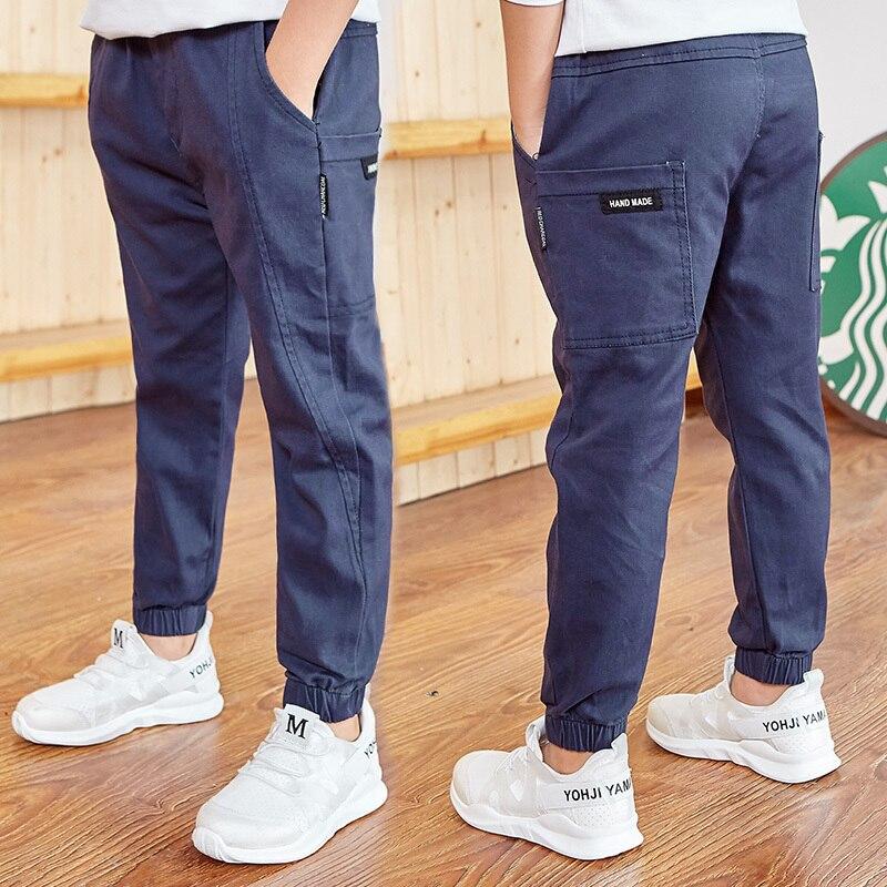 Famli Big Boy Pants Children Spring/autumn Boy Pants Male 2019 New Children's Casual Pants Korean Version Of The Children's