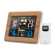 FanJu FJ3365 réveil Station météo sans fil température humidité baromètre thermomètre hygromètre électronique horloges de Table