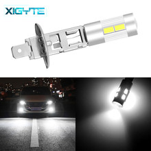 1pcs H1 COB LED Super Bright Long Life White Canbus 10SMD 5630/5730 Replacement Bulbs For Car Fog Lights Running Lights Lamps(China)