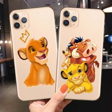 Lion King Pumba Hakuna Matata Soft TPU Shell For iPhone 11 11Pro 5S SE 6 6S 6 7 8Plus Max XS XR X10 Soft silicone cover(China)