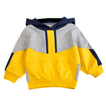 Kids Baby Boys Hooded Sport Clothes