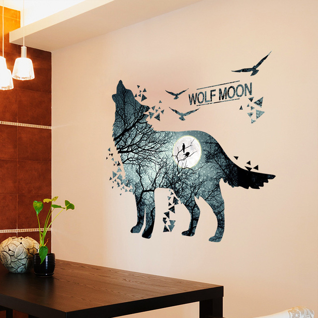 Wolf Forrest 81*74cm Wall Covered 6