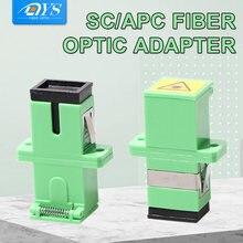50 шт ftth simplex sc apc Волоконно оптический адаптер одномодовый